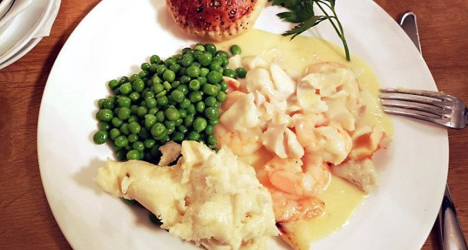 Reconstructed fish pie