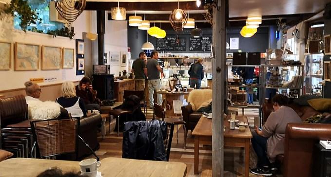 The Lounge Cafe at Monkton Arts