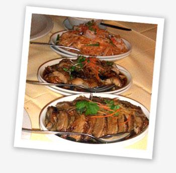 Baan Thai meal
