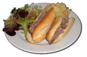 Beef baguette