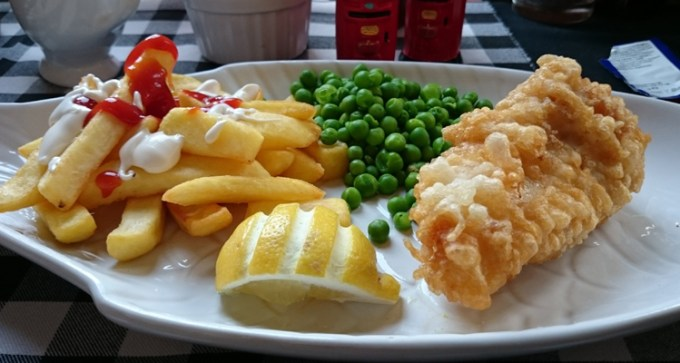 Bellamy's: lite bite fish and chips