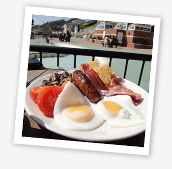Ventnor Bay Special breakfast