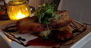 Rico Libre: pork belly in redcurrant and coca cola sauce