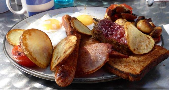 Blue Door Cafe's breakfast brunch