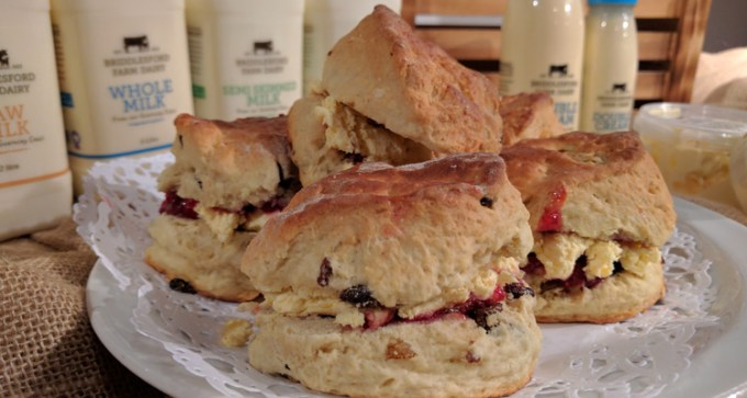 Clotted cream - perfect for scones!