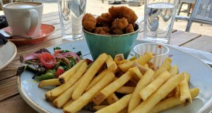 Salt and pepper squid and fries