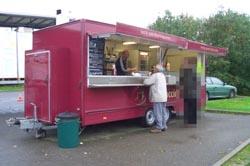 The burger van, Dodnor
