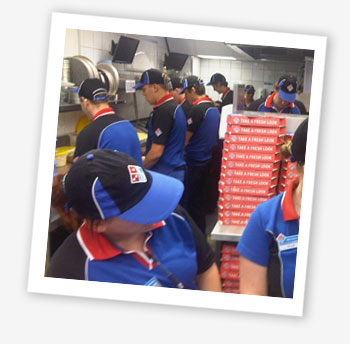 Domino's Pizza, Ryde