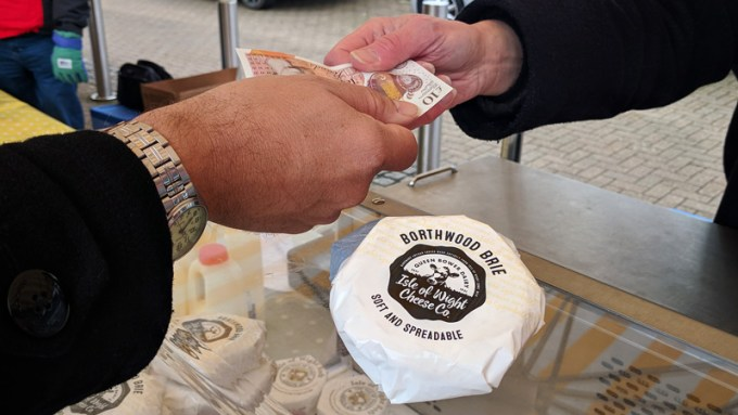 Buying IW Cheese Company new cheeses