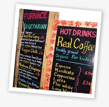 Furnace menu, Bestival