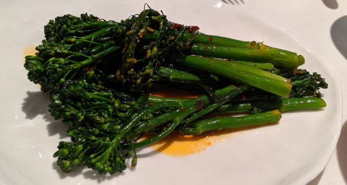 Spiced tenderstem broccoli
