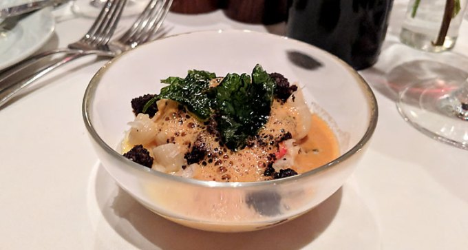 IW lobster and black pudding mac 'n' cheese