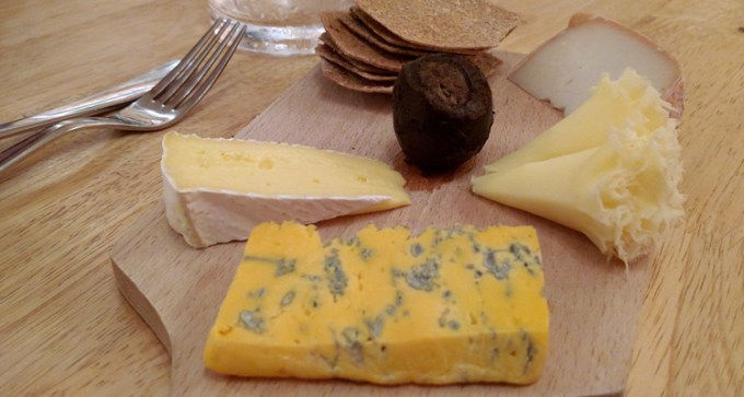 British and continental cheeses