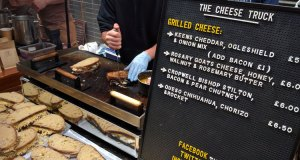 The Cheese Truck at Maltby Street market
