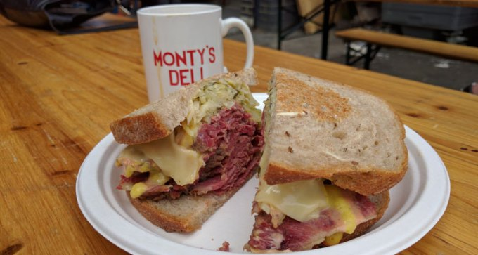 Monty's Deli at Maltby Street market