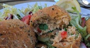 Bembridge crab cakes
