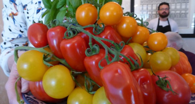 Wow! Isle of Wight tomatoes