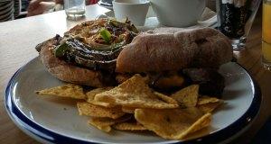 El Cubano, steak ciabatta