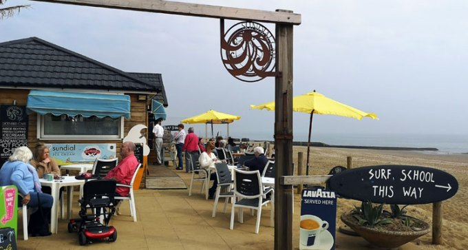 Sundial Cafe, Sandown