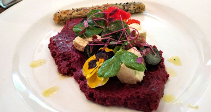 Taverners: beetroot hummus