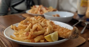 Haddock, Terry's Fish and Chips, Wootton