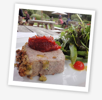 Ventnor Botanic Garden Café meatloaf