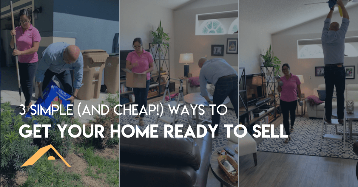3 Simple (And Cheap!) Ways to Get Your Home Ready to Sell