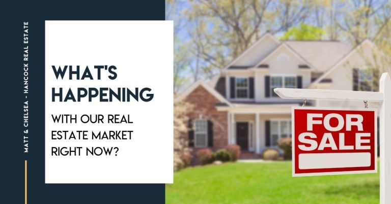 What's happening with our real estate market right now?