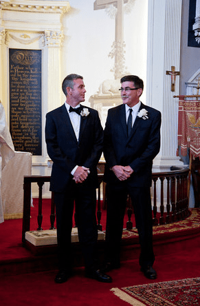 Matt and Best Man, brother Mike