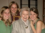 "Older Amanda, Charlotte, & Grandmother-of-the-Bride, Mrs. May ""Petie"" Lee"