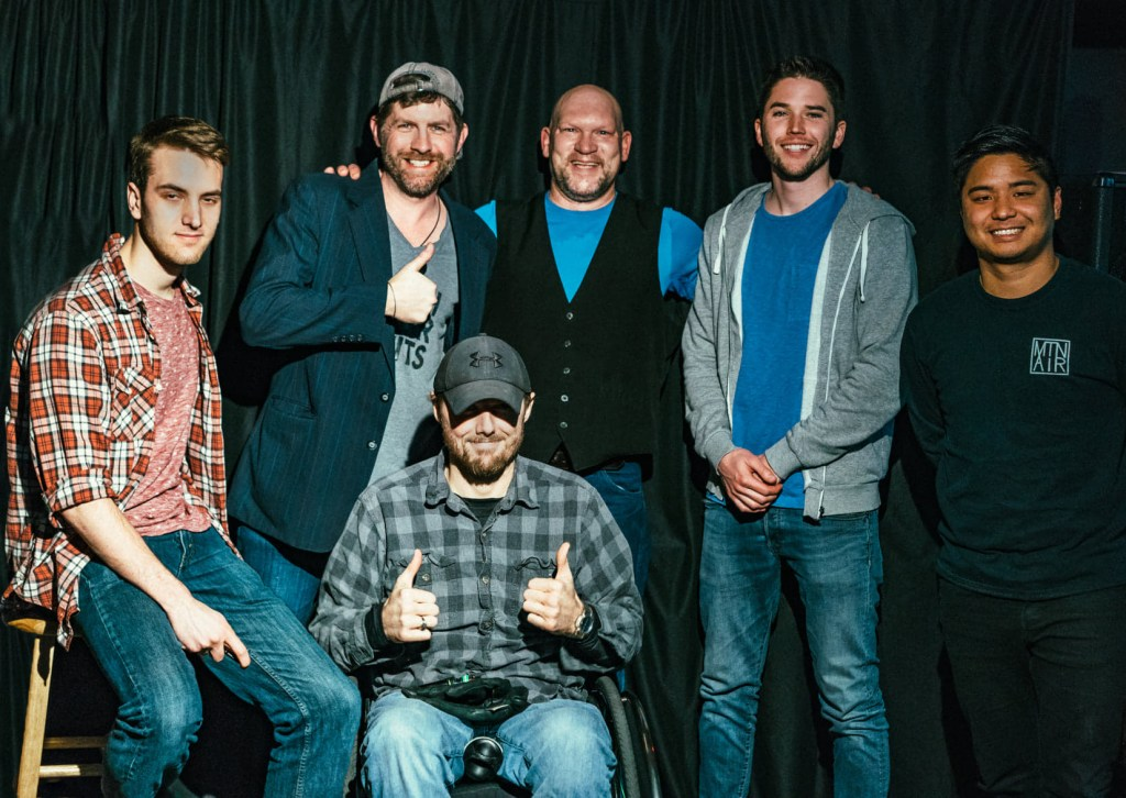 Comedians in Des Moines, icheal Good, Andrew Lopez, Jeremy Danely