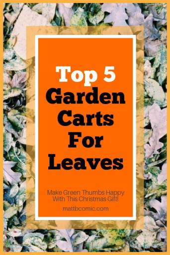 Best Garden Cart For Leaves Post Graphic