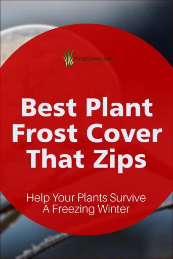 Plant Frost Cover That Zips Post Graphic