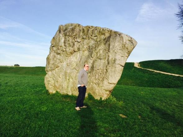Matt and slab of stone