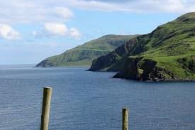 Beautiful scenes along the Antrim coast.