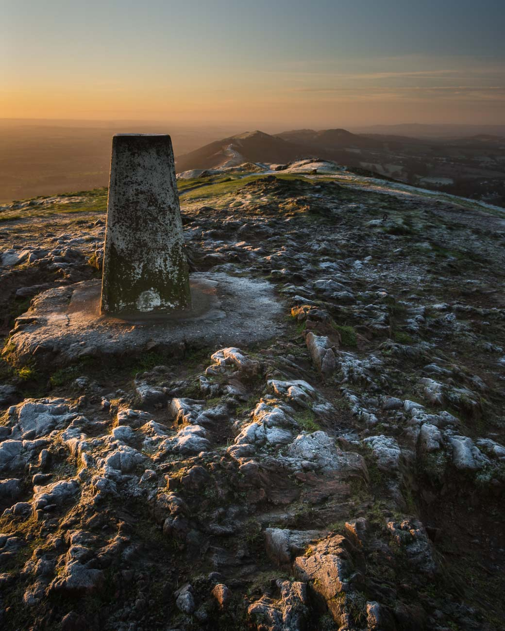 Worcestershire Beacon Trigpoint