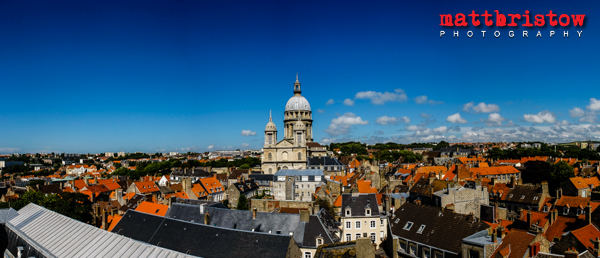 Panoramic cityscape of Bologne-Sur-Mer | Professional Photographer Matt Bristow