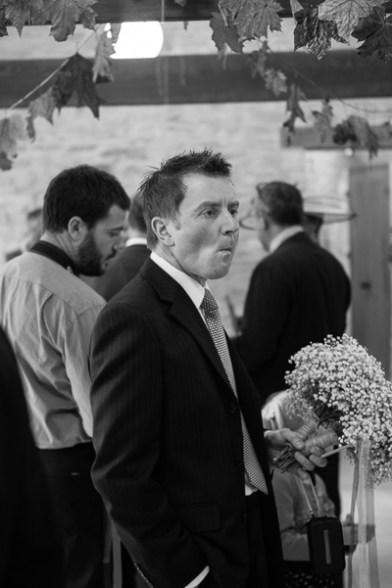 Neil and Ros Wedding, Kingscote Barn