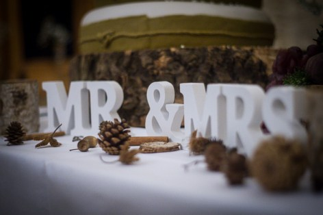 The attention to detail was just lovely - Neil and Ros Wedding, Kingscote Barn