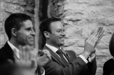 Neil and Ros Wedding, Kingscote Barn