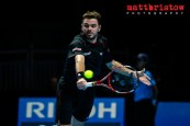 Barclays ATP World Finals 2013 at London's O2 Arena. Group B sin