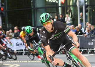 Pearl Izumi Tour Series 2014. Round 8 Canary Wharf. Canary Wharf, London.