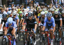 Team Sky rider Sir Bradley Wiggins during the start of stage 8b. Friends Life Tour of Britain