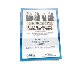 Corporate Networking Invitation