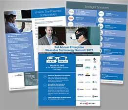 Technology Conference Brochure