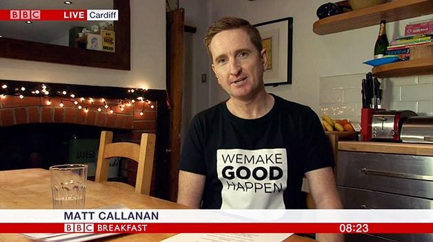 Matt Callanan BBC Breakfast
