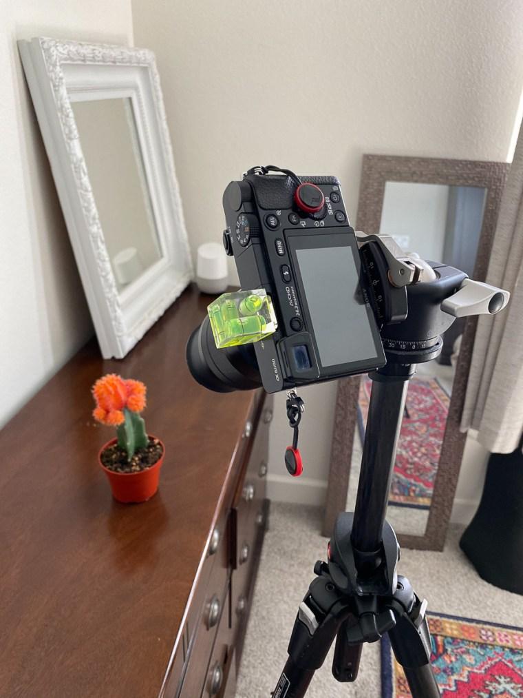 BTS camera setup