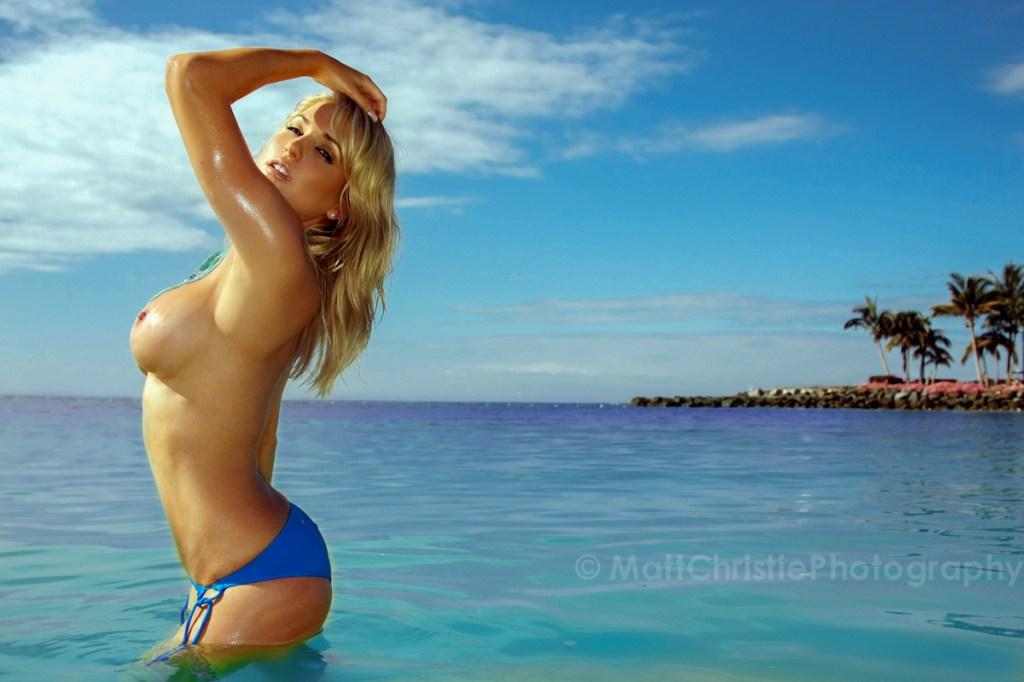 London Glamour Photographer - Kayleigh Pearson, Anfi Beach, Gran Canaria