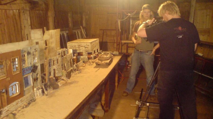 Filming 'City of Vengeance'
