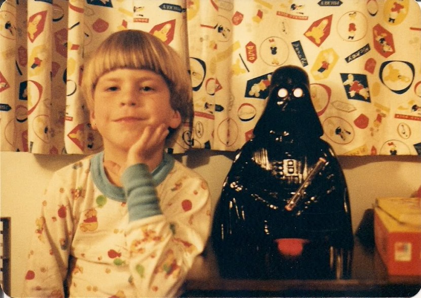 Me and Darth Vader